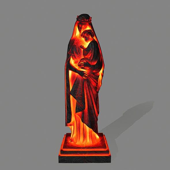 fire Woman_Statue