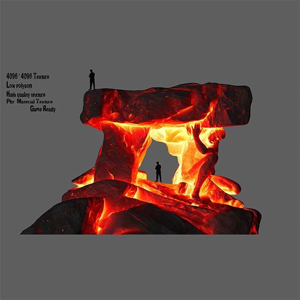fire Gateway - 3DOcean Item for Sale