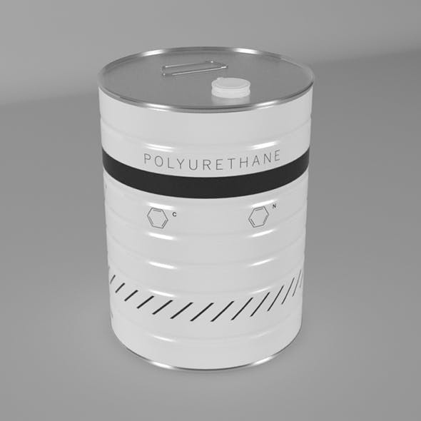Polyurethane can