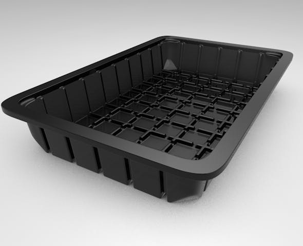 3D Plastic Food Container - 3DOcean Item for Sale