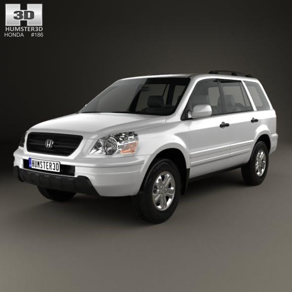 Honda Pilot EXL 2003