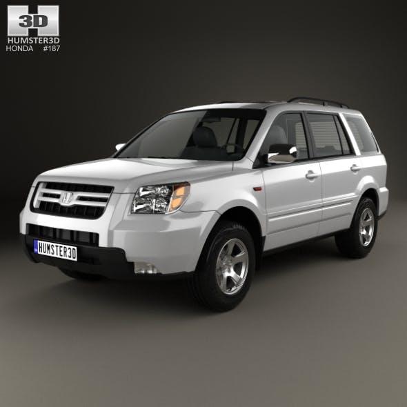 Honda Pilot EXL 2006 - 3DOcean Item for Sale