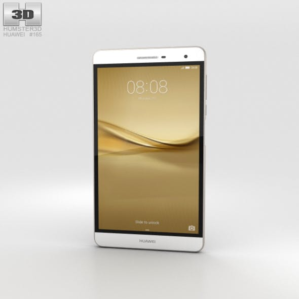 Huawei MediaPad T2 7.0 Pro Gold - 3DOcean Item for Sale