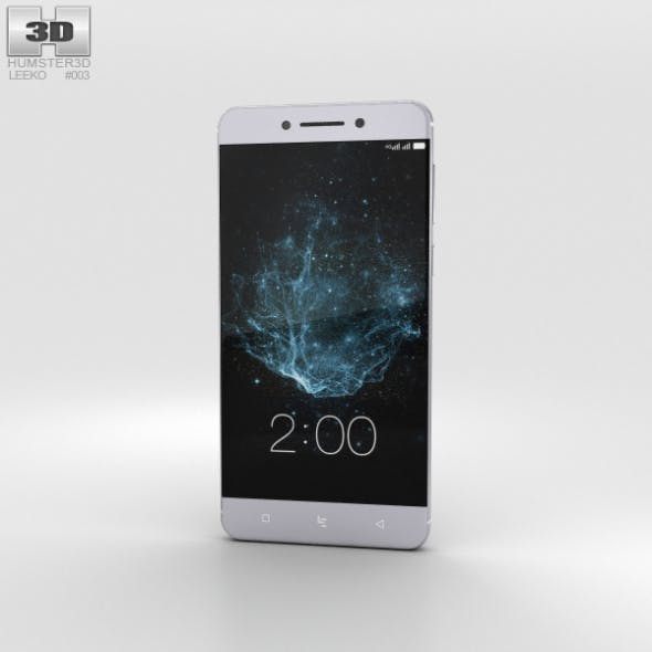 LeEco Le Pro 3 Gray - 3DOcean Item for Sale