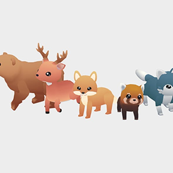 Forest Animals - Wild Series