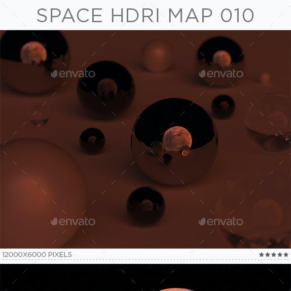 Space HDRi Map 010