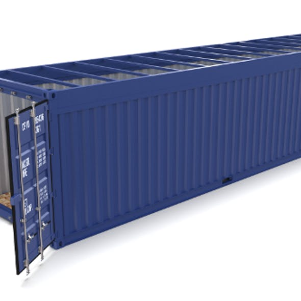 40ft Shipping Container Open Top no Cover