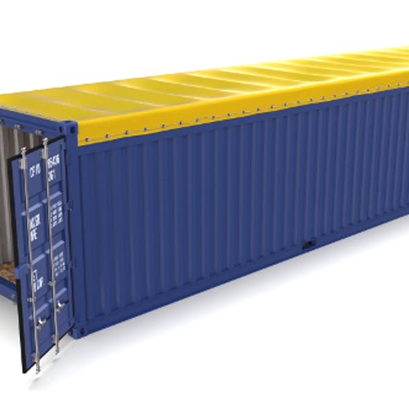 40ft Shipping Container Open Top 2