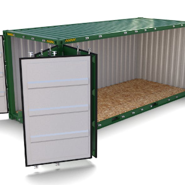 20ft Shipping Container Side Open