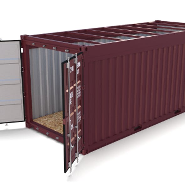 20ft Shipping Container Open Top no Cover
