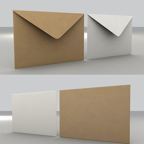 3D Envelope (Size C5 Banker)
