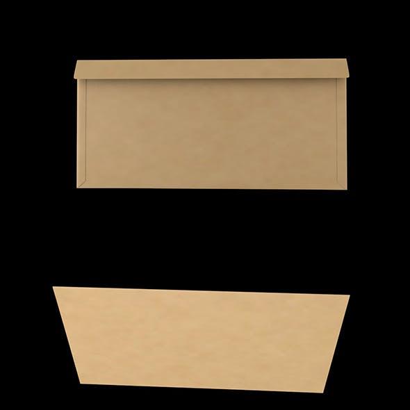 3D Envelope (Size DL Wallet)
