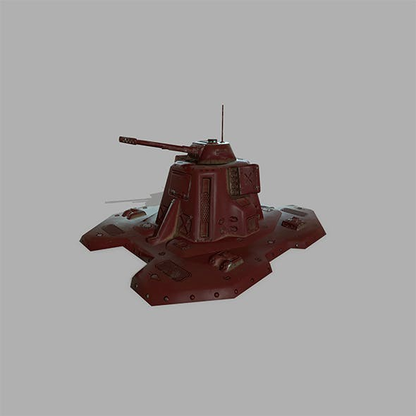 Missile _Turret. - 3DOcean Item for Sale