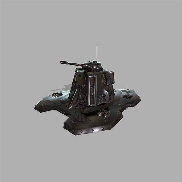 Missile _Turret - 3DOcean Item for Sale