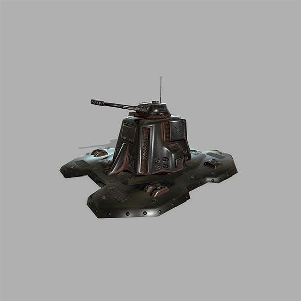 Missile _Turret - 3DOcean Item for Sale