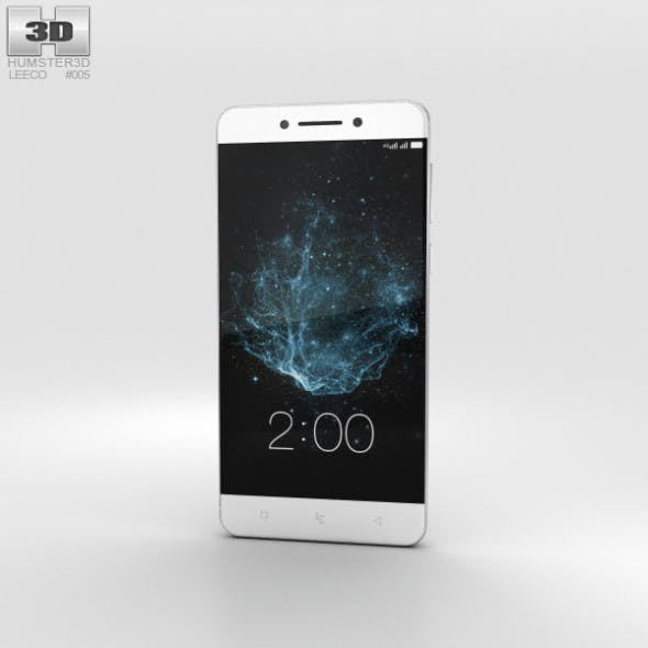 LeEco Le Pro 3 Silver - 3DOcean Item for Sale