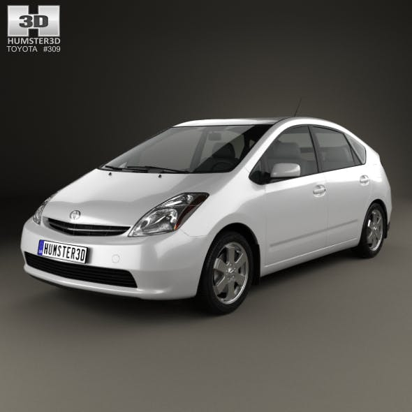 Toyota Prius base 2003 - 3DOcean Item for Sale