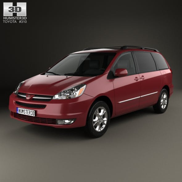 Toyota Sienna CE 2004 - 3DOcean Item for Sale