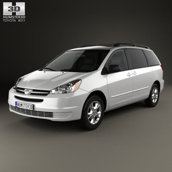 Toyota Sienna LE 2004 - 3DOcean Item for Sale