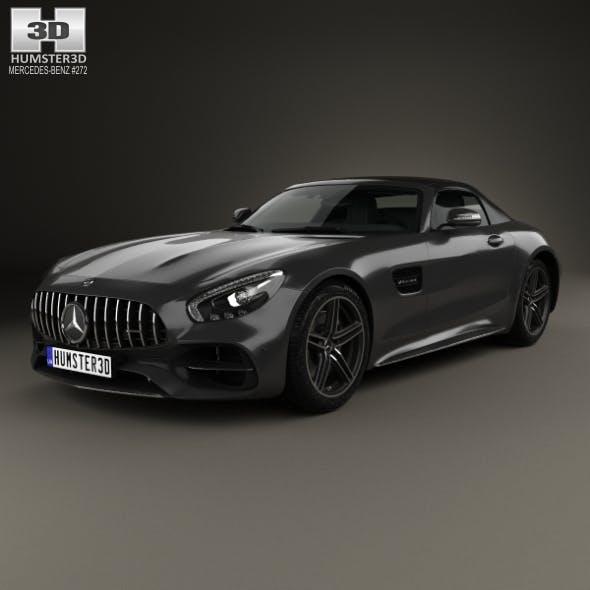 Mercedes-Benz AMG GT C Roadster 2017 - 3DOcean Item for Sale