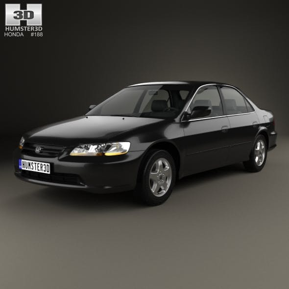 Honda Accord EX (US) 1998 - 3DOcean Item for Sale