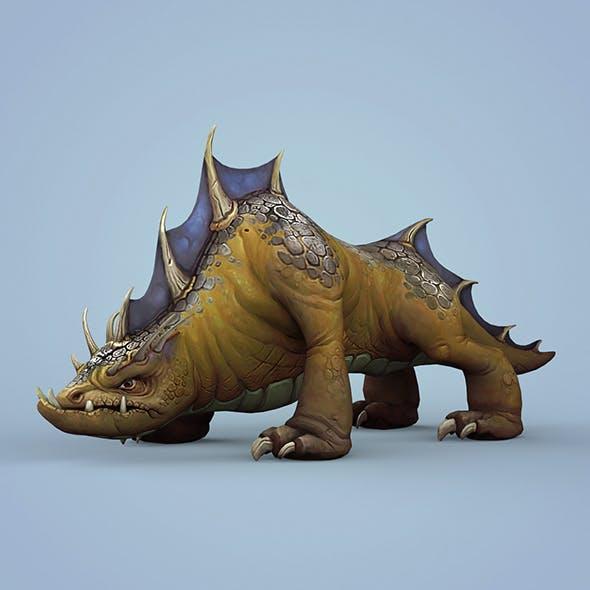 Fantasy Wild Monster Animal - 3DOcean Item for Sale