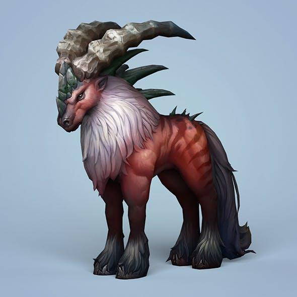 Fantasy Monster Mouflon - 3DOcean Item for Sale