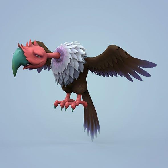Fantasy Cartoon Vulture - 3DOcean Item for Sale