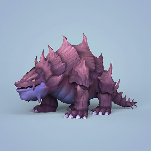 Fantasy Cartoon Monster