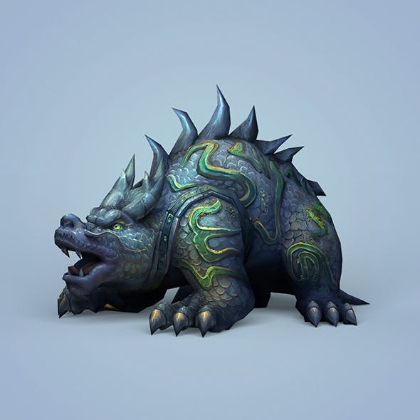 Fantasy Ghost Monster