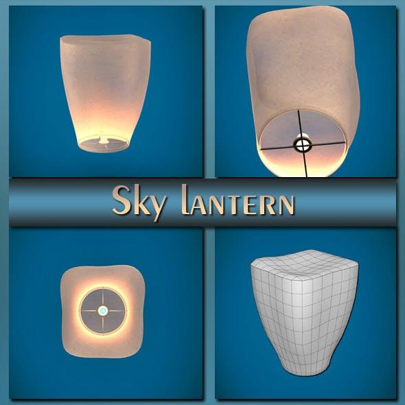Sky lantern - 3DOcean Item for Sale