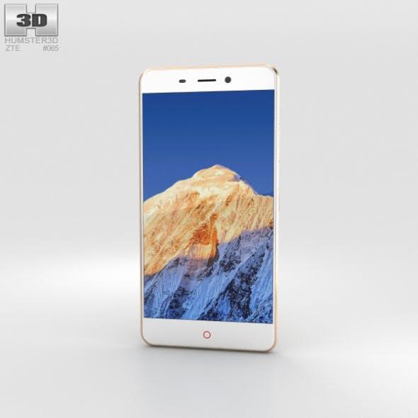 ZTE Nubia N1 Gold - 3DOcean Item for Sale