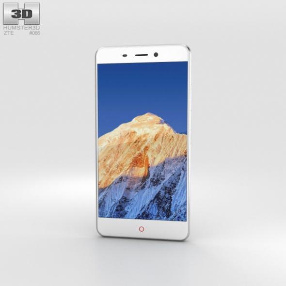 ZTE Nubia N1 Silver - 3DOcean Item for Sale