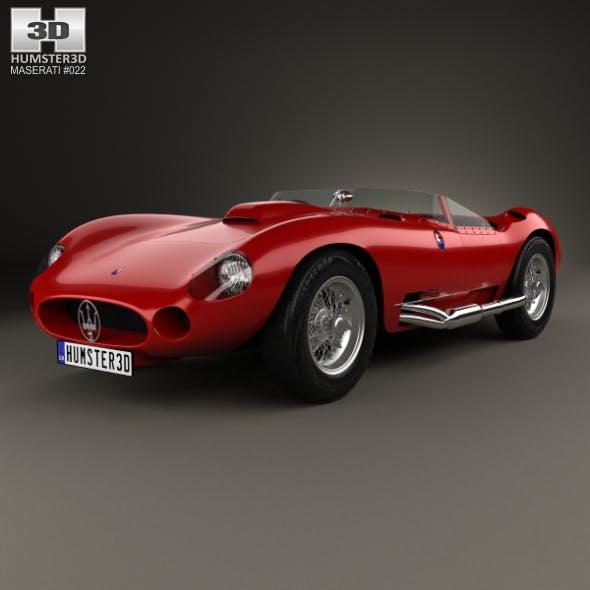 Maserati 450S 1956 - 3DOcean Item for Sale