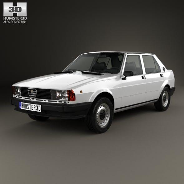 Alfa Romeo Giulietta 1977 - 3DOcean Item for Sale
