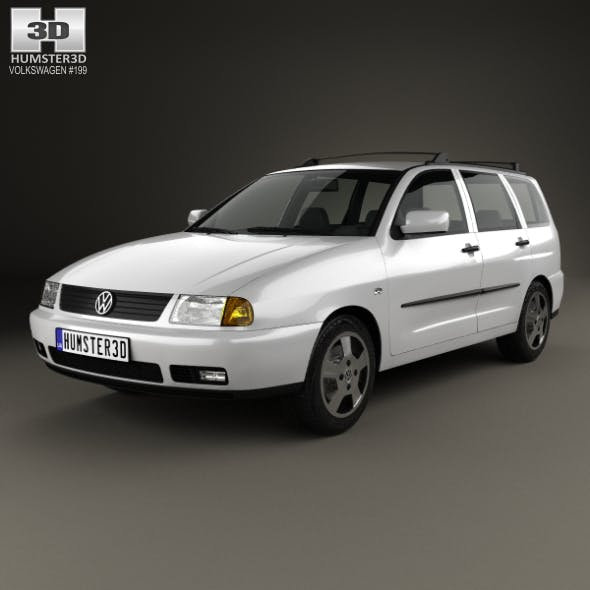 Volkswagen Polo Variant 1997 - 3DOcean Item for Sale