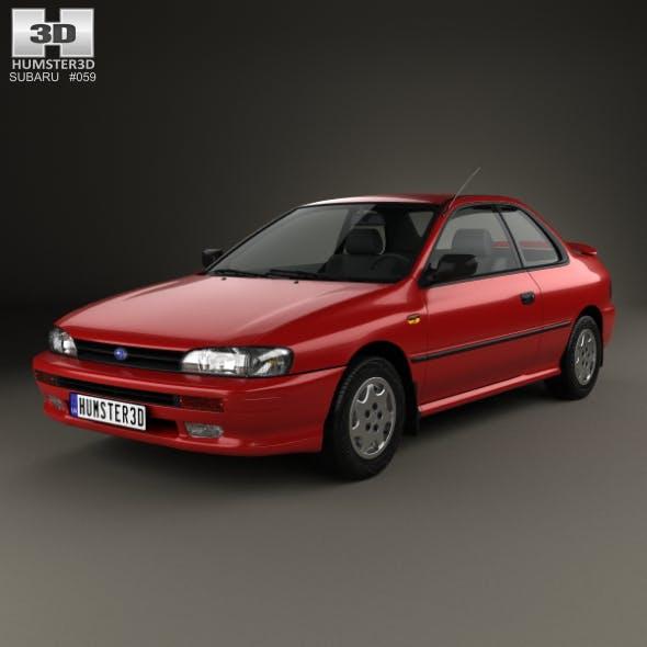 Subaru Impreza Coupe 1995 - 3DOcean Item for Sale
