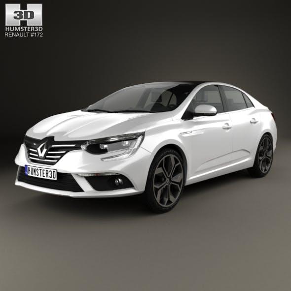 Renault Megane sedan 2016