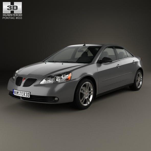 Pontiac G6 V6 2006 - 3DOcean Item for Sale