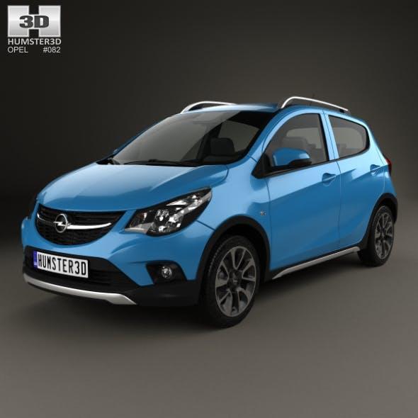Opel Karl Rocks 2017 - 3DOcean Item for Sale
