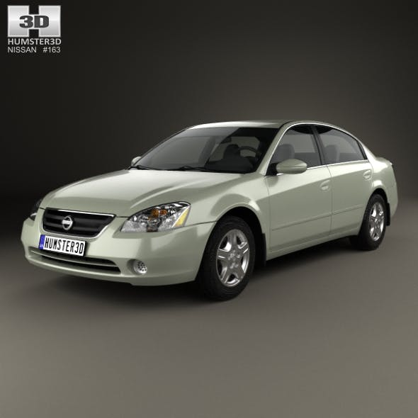 Nissan Altima S 2002 - 3DOcean Item for Sale