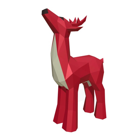 Deer figure - 3DOcean Item for Sale