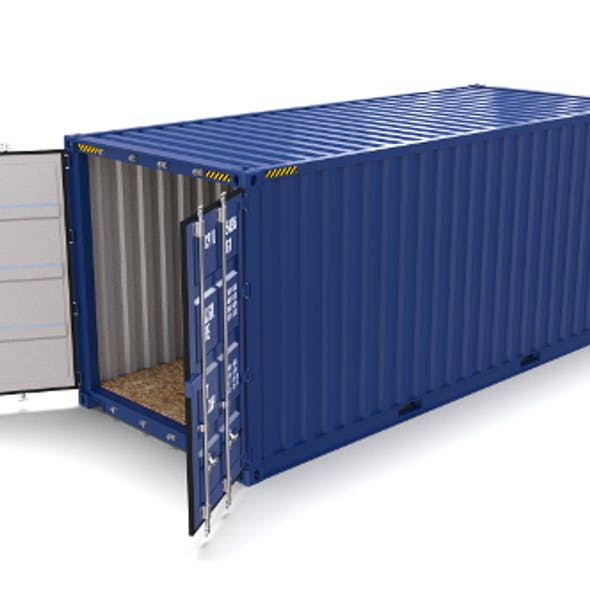 20ft Shipping Container Blue