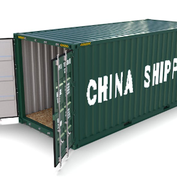 20ft Shipping Container China Shipping