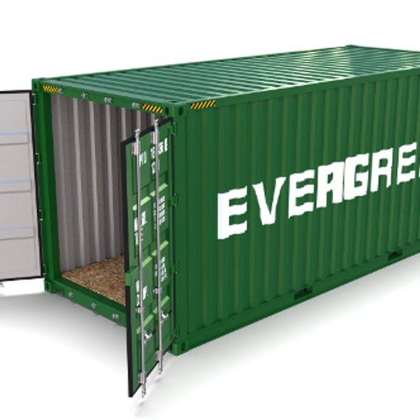 20ft Shipping Container Evergreen