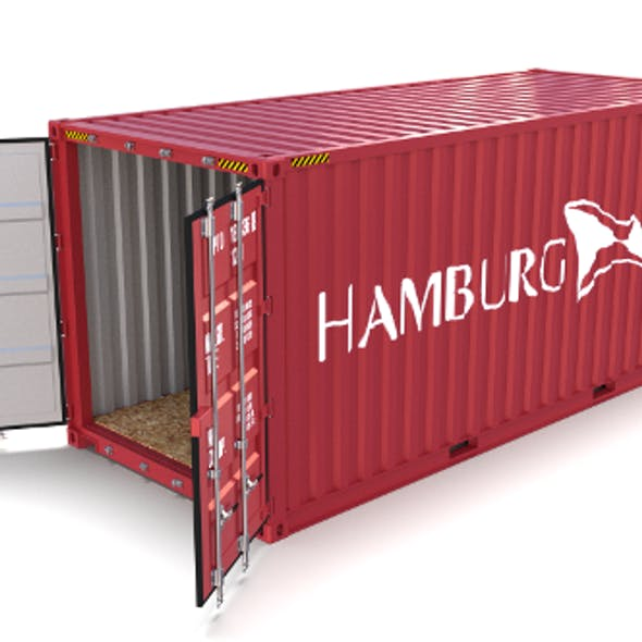 20ft Shipping Container Hamburg Sud
