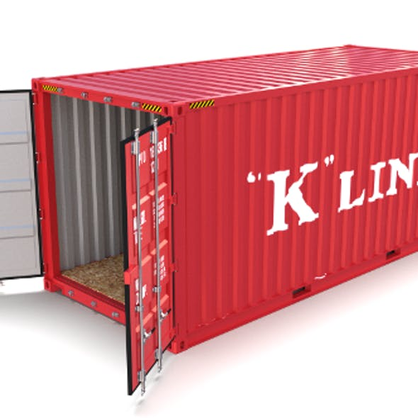 20ft Shipping Container K Line