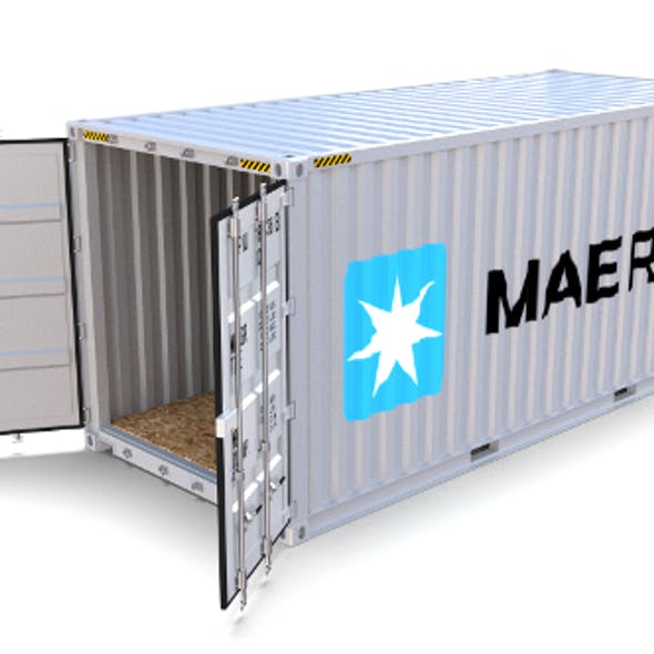 20ft Shipping Container Maersk