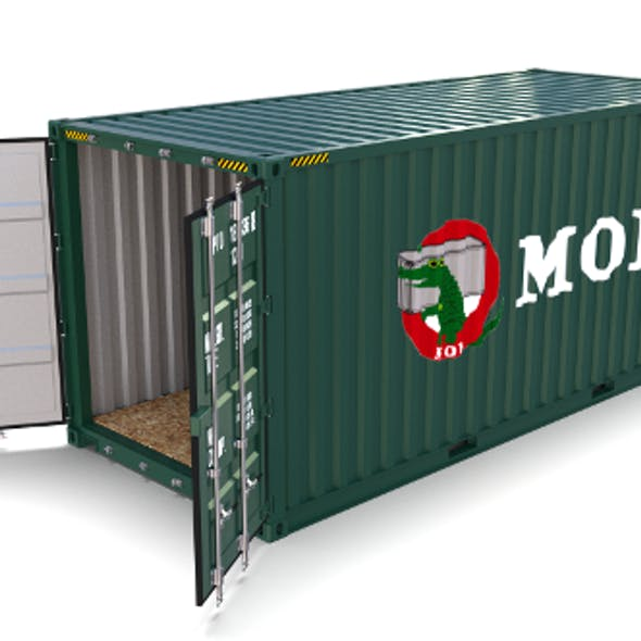 20ft Shipping Container MOL