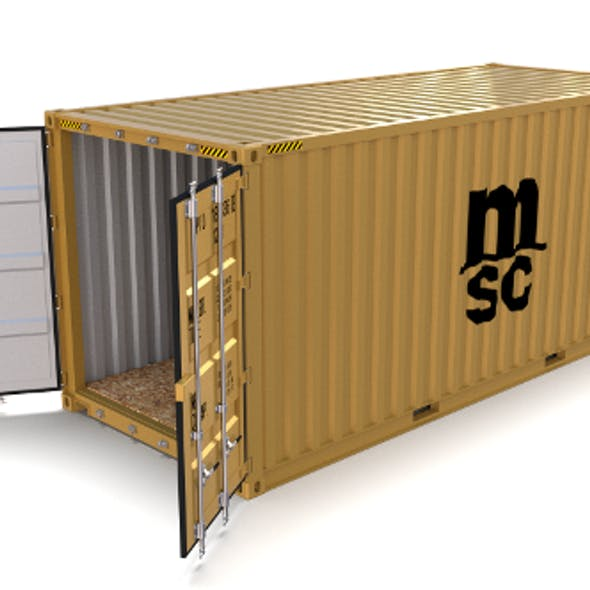 20ft Shipping Container MSC